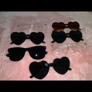 Sunglasses and cases